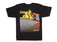 Vortex Racing T-Shirt -  59 - Black  L/Large  (SS34L)