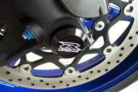 2003-2004 Suzuki GSXR1000 Limited Edition Front Wheel Axle Caps with Engraved Logo