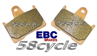 2006-2008 Ducati ST3S ABS Sport Touring EBC HH Sintered Rear Brake Pads