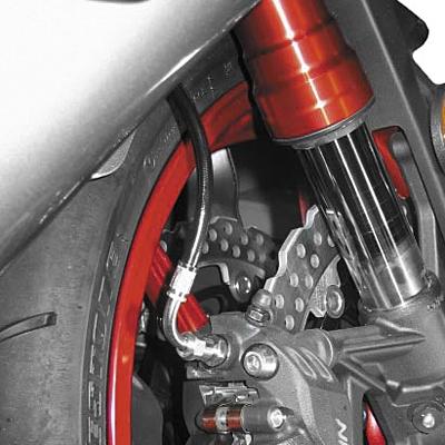 Galfer Superbike Front Brake Line Kit 2 Line Black 04-05 KAWASAKI ZX10R