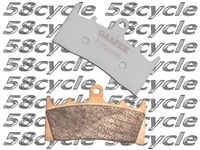 2006-2009 Suzuki LTR 450 Quad Racer Galfer Gold Sintered Front Brake Pads - Left Side