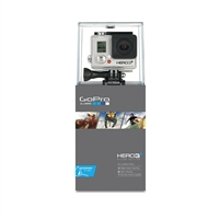 GoPro HD HERO3+ Plus Silver Edition (1080p) Wide Angle Camera - Video Camcorder - (CHDHN-302)