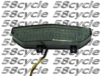 2008-2014 Kawasaki Concours 14 Clear Alternatives SMOKE Tail Light with Integrated Signals - SALE