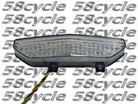 2008-2014 Kawasaki Concours 14 Clear Alternatives Clear Tail Light with Integrated Signals