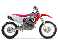 2013 Honda CRF450R Two Brothers Racing Standard Gold Series M7 Slip On Exhaust - Carbon Fiber Canister (005-3260407V)