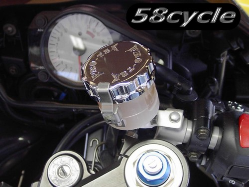 crazy sport Front Rear Brake Fluid Reservoir Cover Cap For YAMAHA YZF YZFR1 YZF-R1 2009-2014 Motorcycle Accessories CNC With Logo Gold