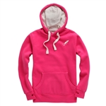 Our best selling red Crowan College Hoodie is perfect for everyday casual wear.