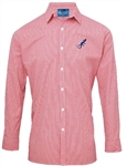 Gingham Casual Cotton Shirt (Unisex & Ladies Styles) - 3 colours