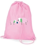 Kissing It Better Drawstring Bag