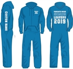 Leavers Onesie 2019 - with custom name (7 colours to choose from)