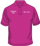 R.L.T.C. Ladies Polo Shirt (Size XS to XXL)