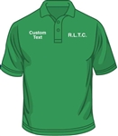 R.L.T.C. Mens Classic Fit Polo Shirt (Size XS to XXL)