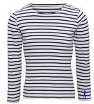 Stripey Long-Sleeved T-shirt (Unisex & Ladies Styles) - 2 colours