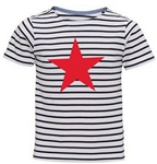 Stripey Short-Sleeved T-shirt (Junior)
