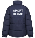 SUPRA 2020 - Puffer Jacket (Classic or Slim fit) - SPORT REHAB back print