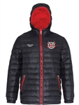 Padded Jacket Black/Red (Ladies and Unisex)