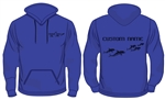 Supersoft personalised Wimbledon Dolphins Hoodie