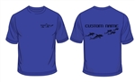Wimbledon Dolphins Personalised Sports T-shirt  (Ladies Fit - Adult Sizes)