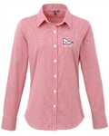 Gingham Cotton Shirt (Unisex & Ladies Styles) - 3 colours