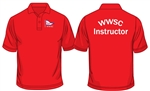 WWSC Red Instructor Polo Shirt