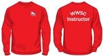 WWSC Red Instructor Sweatshirt (Adult Sizes)