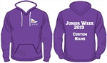 WWSC Junior Week 2019 - Contrast Colour Hoodie (Adult Sizes) - 9 colours