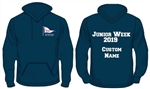 WWSC Junior Week 2019  - Single Colour Hoodie (Junior Sizes) - 12 colours