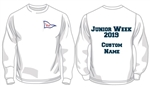 WWSC Junior Week 2019 - Crew Neck Sweatshirt (Junior Sizes) - 5 colours