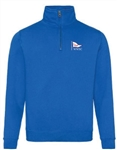 Quarter Zip Sweatshirt (Adult Sizes) - 5 colours