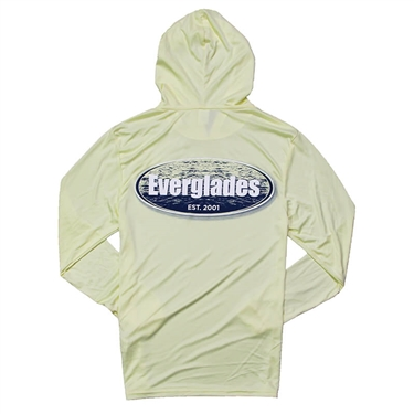 Offshore LS Hooded Tee - Pale Yellow