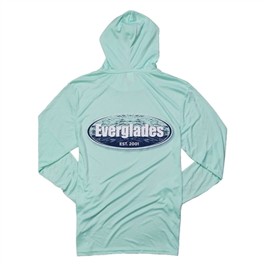 Offshore LS Hooded Tee - Mint Green