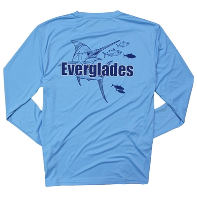 Glide Performance LS Tee - Delph Blue