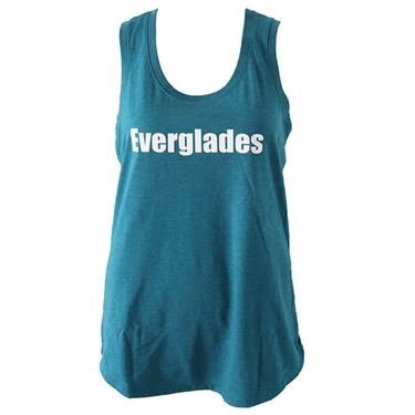 Women's All Day Tank - Heather Teal