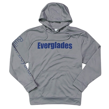 Performance Fleece Hoodie - Athletic Grey