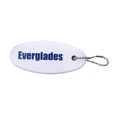 Floating Keychain - White