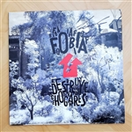 Fobia - Destruye Hogares vinyl - white colored vinyl.  FIRMADO!!