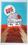 Zoé Silkscreen Print/Poster US Tour 2011 - SOLD OUT!!! AGOTADO!!!