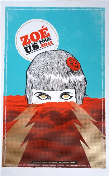 Zoe Screen Print - SOLD OUT!!! AGOTADO!!!