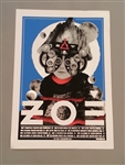 Zoé Silkscreen Print U.S. Tour 2013 - SOLD OUT/AGOTADO!!!