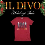 Il Divo - Tee Shirt - Holiday Sale