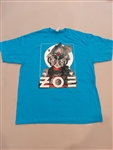 Zoe Blue Tee - SOLD OUT!!! AGOTADO!!!