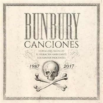 "Bunbury - Canciones 1987-2017 Vinyl Box Set w/ 7"" picture disc - Imported!!!"