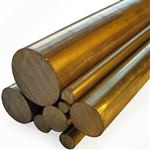 "CUT TO LENGTH - C46400 | Solid Bar 1-1/4""O.D."