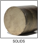 "CUT TO LENGTH - C95900| Solid Round Bar 5""O.D."