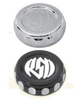 Front/Rear RSD Combat Brake Reservoir Cap Black Contrast Cut
