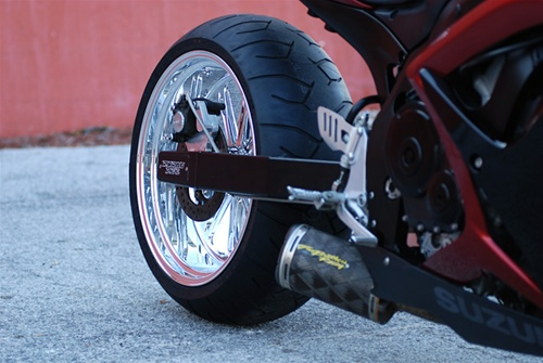 06-09 GSXR 600/750 240 Wide Tire Conversion Kit CLICK ON PICTURE TO BUILD  YOUR KIT PRICE
