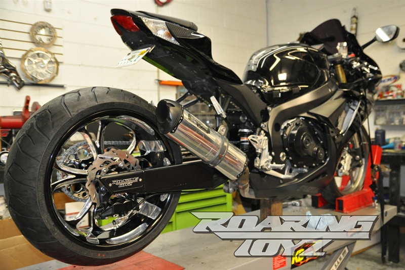 11-13 GSXR 600/750 240 Wide Tire Conversion Kit CLICK ON PICTURE TO BUILD  YOUR KIT PRICE