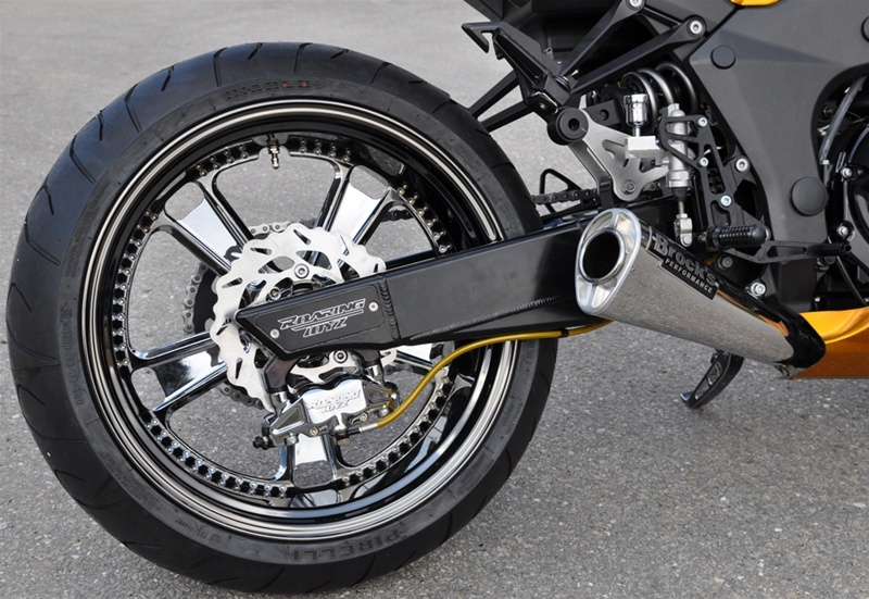 Z1000 240 Wide Tire Conversion Kit CLICK ON PICTURE TO BUILD YOUR KIT PRICE