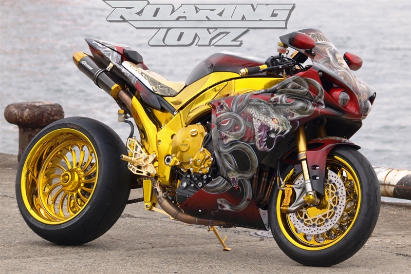 240 Wide Tire Single Sided Swingarm Conversion Kit For Yamaha YZF R1 ...