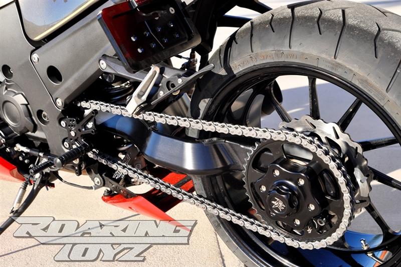 240 Wide Tire Single Sided Swingarm Conversion Kit For Kawasaki ...